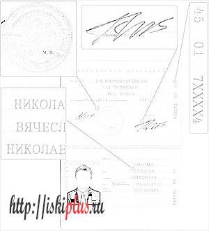 Паспортные данные гражданина РФ