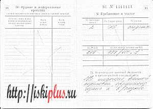 Расшифровка военного билета