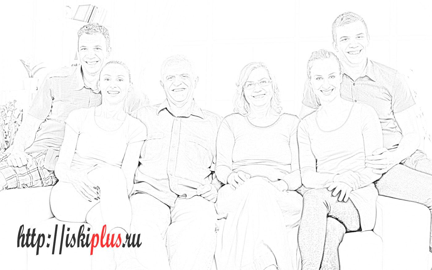 Близкие родственники по Семейному кодексу РФ: понятие, круг лиц, права